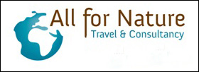 All for Nature Travel logo en link naar website