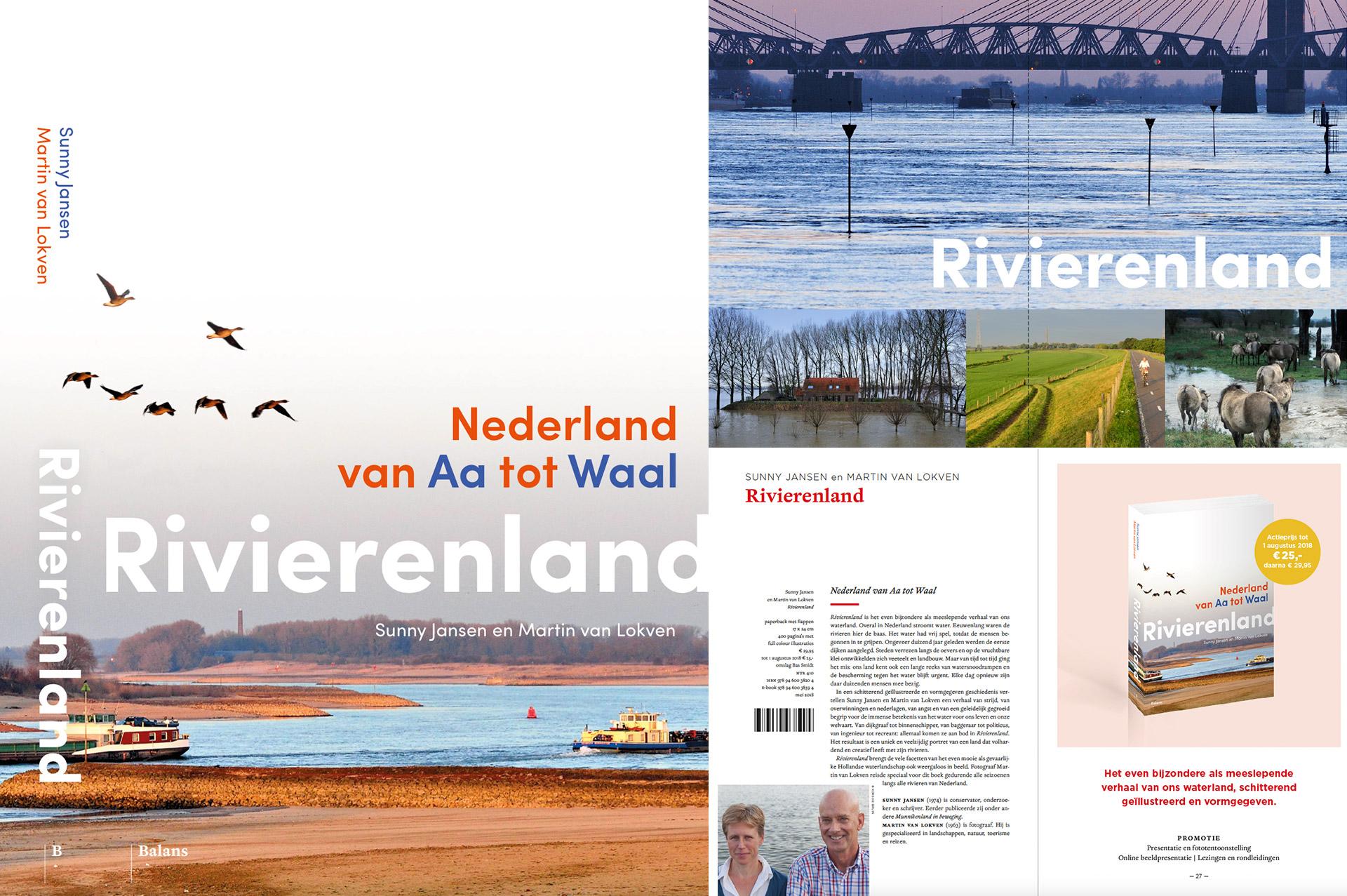 Boek Rivierenland Nederland van Aa tot Waal